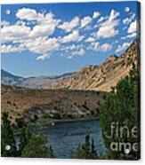 Yellowstone River Overlook Acrylic Print