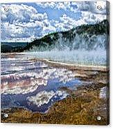 Yellowstone - Springs Acrylic Print