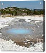 Yellowstone The Pearl Acrylic Print