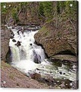 Yellowstone Waterfalls Acrylic Print
