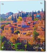 Yemin Moshe Acrylic Print