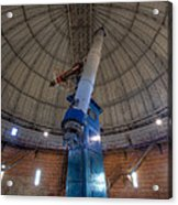 Yerkes Observatory Telescope Acrylic Print