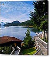 Yes Bay Lodge - The View Acrylic Print