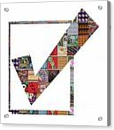 Yes Positive Symbol Showcasing Navinjoshi Gallery Art Icons Buy Faa Products Or Download For Self Pr Acrylic Print