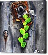 Yesterday - Now Acrylic Print by Jurek Zamoyski