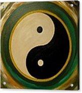Yin And Yang 1 Acrylic Print