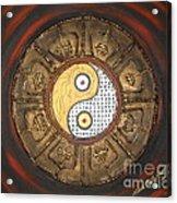 Yin Yang Balance Acrylic Print