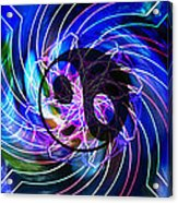 Yin Yang Transformations Acrylic Print