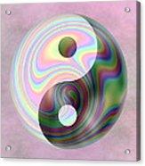 Yinyang 5 Acrylic Print
