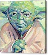 Yoda Acrylic Print
