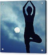 Yoga Balance Acrylic Print