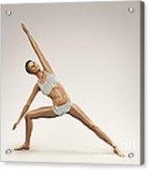 Yoga Side Angle Pose Acrylic Print