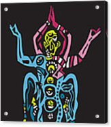 Yogazi Acrylic Print