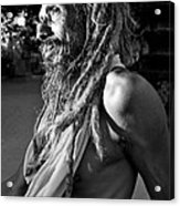 Yogi At Oachira Acrylic Print