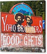 Yoho Brothers Acrylic Print