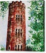 Yokahu Tower  Acrylic Print by Zaira Dzhaubaeva