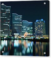Yokohama Minato-mirai Acrylic Print