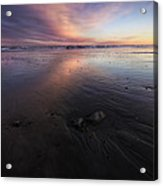 York Beach Acrylic Print