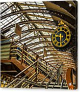 York Railway Station Acrylic Print