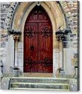 Yorkshire Church Door Acrylic Print