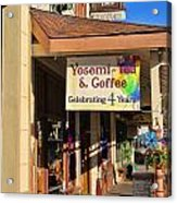 Yosemi Tea Coffee Shop Mariposa California  6935 Acrylic Print