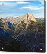 Yosemite Glacier Point Panorama Acrylic Print