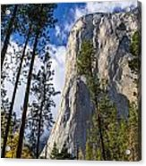 Yosemite In The Fall Acrylic Print