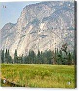 Yosemite Meadow Acrylic Print