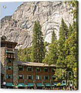 Yosemite National Park Lodging Acrylic Print