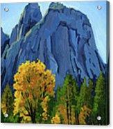 Yosemite Oaks Acrylic Print