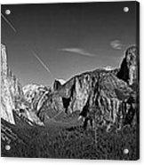 Yosemite Panorama Acrylic Print