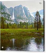 Yosemite Rain Acrylic Print