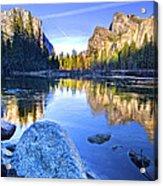 Yosemite Reflections Acrylic Print
