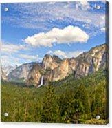 Yosemite Tunnel View Acrylic Print