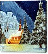 Yosemite Valley Chapel Acrylic Print