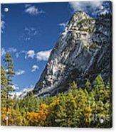 Yosemite Valley Rocks Acrylic Print