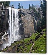 Yosemite's Mist Falls Acrylic Print