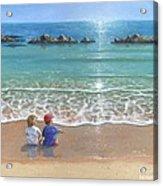 You And Me Acrylic Print