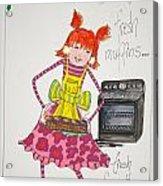 You Bake Acrylic Print by Mary Kay De Jesus