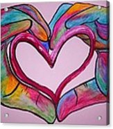 You Hold My Heart In Your Hands Acrylic Print