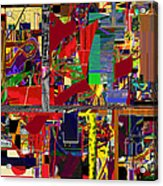 You Saw No Picture 12 Acrylic Print by David Baruch Wolk