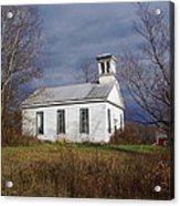 Youkers Bush Baptist Church Acrylic Print