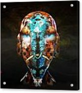 Young Alien Warrior Acrylic Print