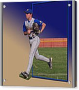 Young Baseball Athlete Acrylic Print