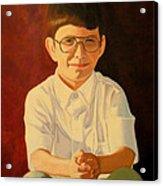 Young Boy Acrylic Print