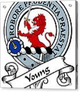 Young Clan Badge Acrylic Print