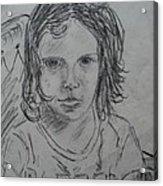 Young Fan Acrylic Print