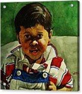 young Giovanni Acrylic Print