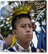 Young Hopi Acrylic Print