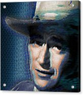 Young John Wayne Pop 2 Acrylic Print